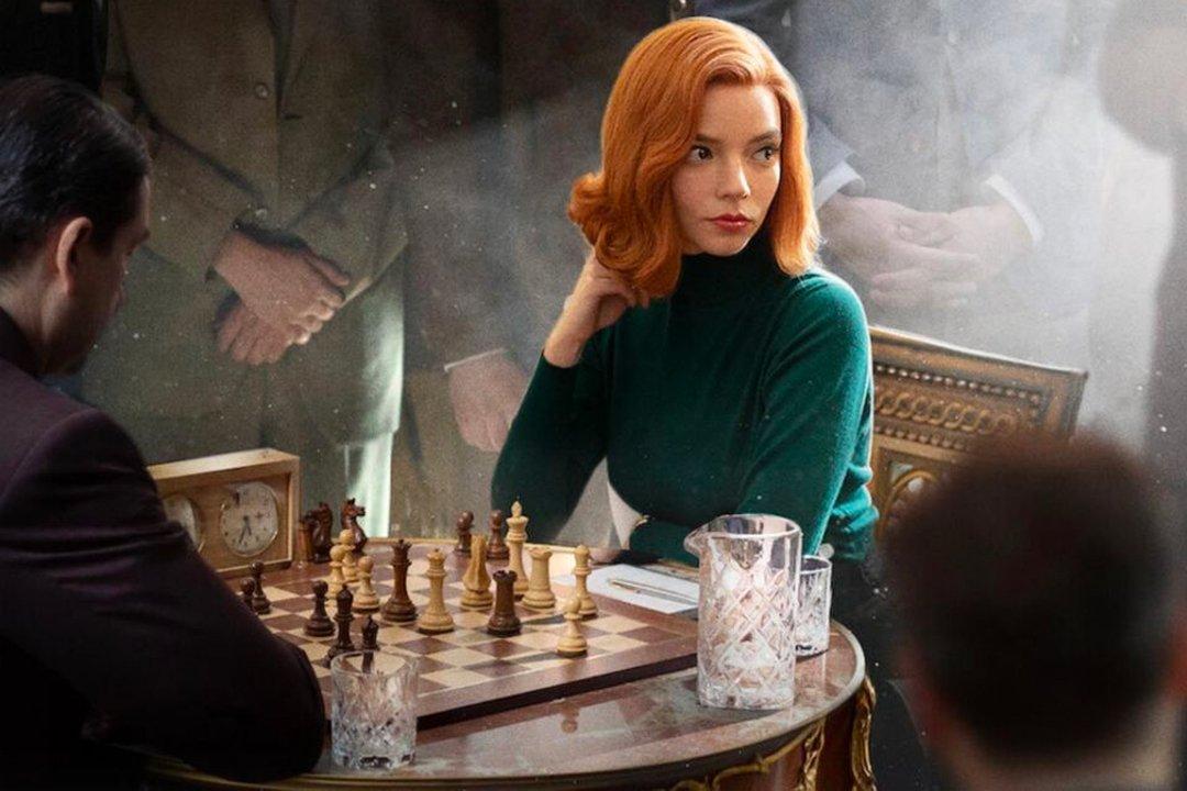 The queen's gambit. Source: Netflix